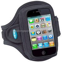 Light weight neoprene armband mobile phone bag for iphone 5 accessories with adjustable velcro