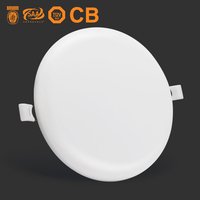 CE RoHs 9W 36 watt smd downlight lamp indoor lighting 24W recessed ceiling light round surface mounted led panel 18w