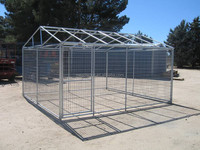 Sale!!! Factory Direct Wholesale Outdoor Large Metal Steel Dog Kennels House