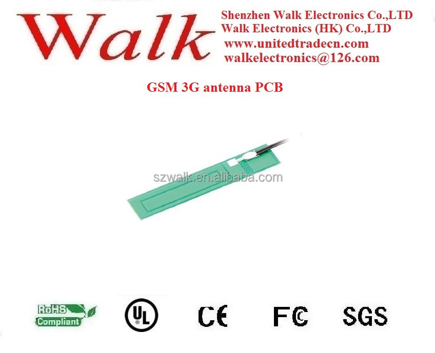 GSM 3G antenna PCB, quad band antenna PCB, multil band antenna PCB