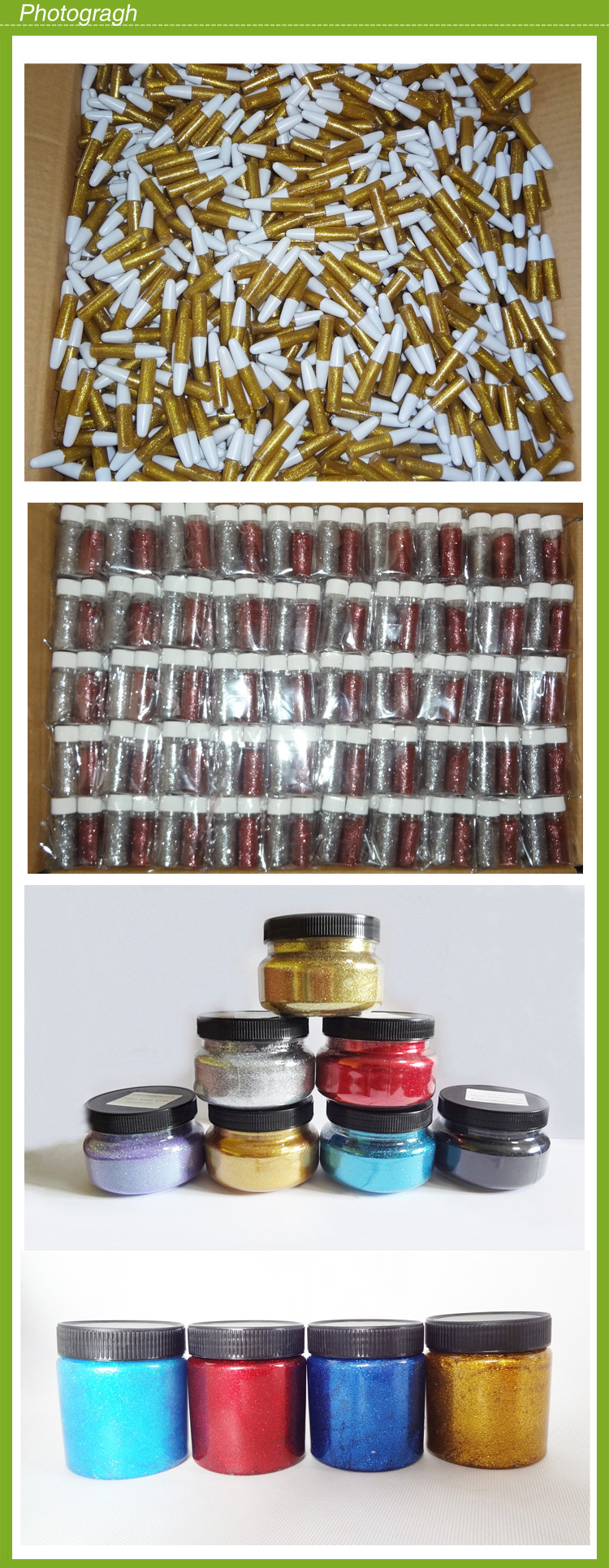 colorful and odorless glitter glue/wholsale bulk glitter