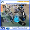 Portable single barrel cow milking machine with cheap prices