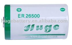 Hot Sale ER26500 Lithium Thionyl Chloride Li-SOCL2 C size Non-rechargeable battery from Factory