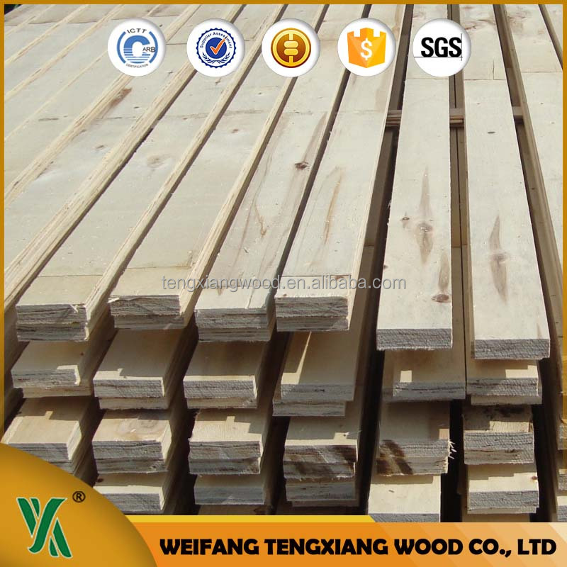 Promotion Hot sell engineered LVB / LVL solid wood beams in pine wood
