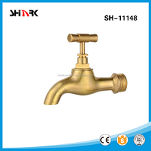 wall mounted brass bibcock water tap SH-11148