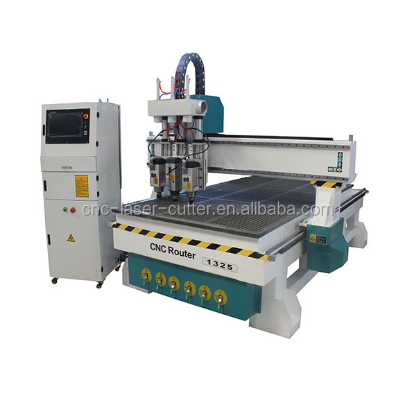 China JCUT Wood working funiture made cnc router machine /1325 3D woodworking cnc router for sale
