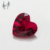 heart shape synthetic ruby fancy stones