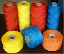 Colorful Polyester/Nylon/PP Twisted/Braid Twine With Reasonable Price