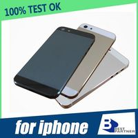 Free shipping back cover housing for iphone 5 back housing