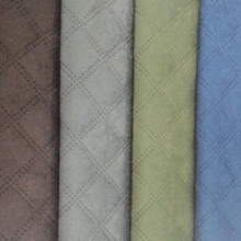wholesale quilted ultrasonic velvet upholstery fabric roll for furniture
