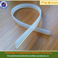 14X3mm Flat Silicone Extruded Strip