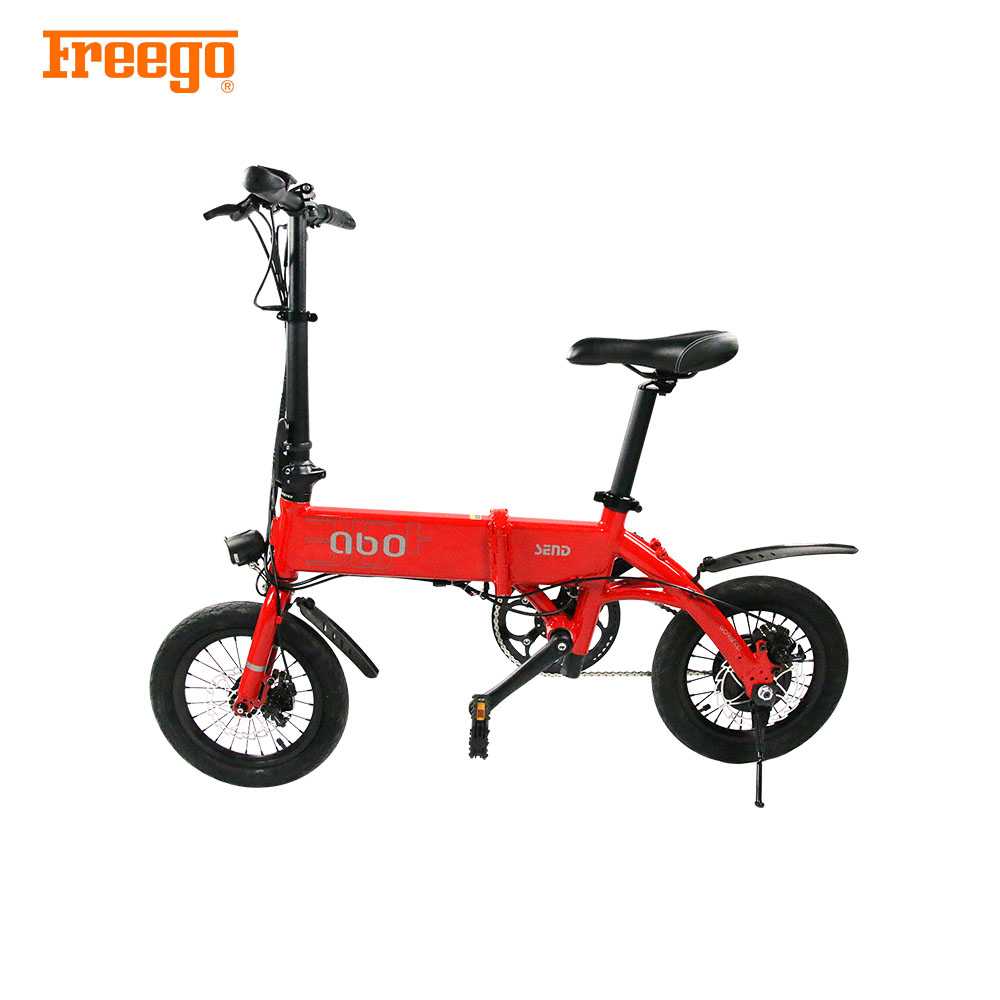 Freego 20 inch light weight folding panasonic electric bicycle