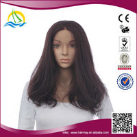 2014 New fashion synthetic cheap lace front wig with baby hair
