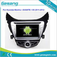 8 inch 1080p touch screen android 6.0 car dvd player for Hyundai Elantra / AVANTE /I35 2011-2012 with GPS