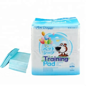 Factory sales disposable export to Japanese dog pee pad dog urine underpad puppy training pads