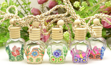 Factory Wholesale 10 ml Glass Bottle Hanging Car Air Freshener,Aroma Liquid Hanging Car Perfume