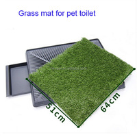 Factory wholesale hot-sale plastic material dog training toilet cheap pet toilets
