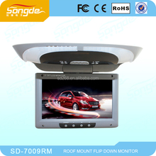 18inch roof mount car tft lcd flip down monitor