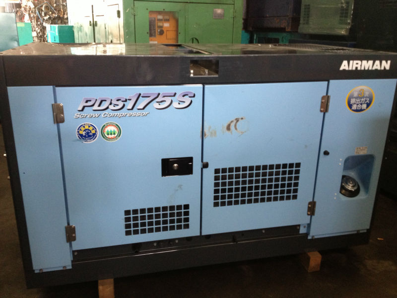Airman PDS175s Air Compressor