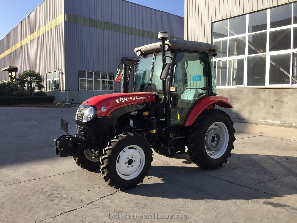 50hp 4wd farm tractor tracteurs agricoles chinois