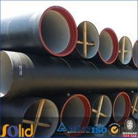 EN 598 ductile iron pipe for drainage