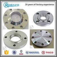 astm sa 182 f1 din 1 4571 stainless steel flange decorative