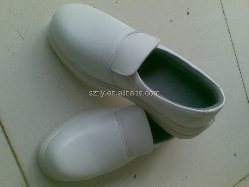 Whole Sale On stock White color ESD Cleanroom Safety shoes