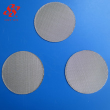 316L sintered porous stainless steel 10 micron filter disc