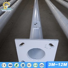 aluminum single arm street light pole