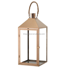 Stainless steel garden candle lantern best price