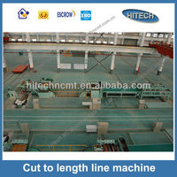 T44K-1.5x1300 easy operation cut to length shearer high quality low price cross cutting machine