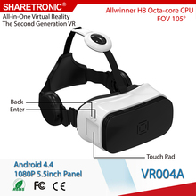 OMIMO VR| ODM 2016 Latest Virtual Reality 3D Glasses for Blue Film