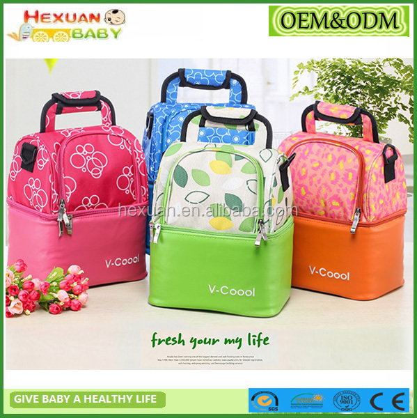 bottle cooler bag/cooler bag manufacturer/breast milk cooler bag