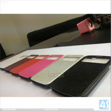 luxury accessories mini smart cover original waterproof hybrid for s4 leather case P-SAMI9500CASE098
