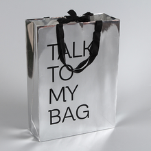 China personalized die cut korean style paper bag pretty gift bags