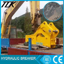 Different type of excavator construction attachments hammer for sale