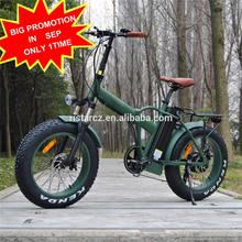"fat tire foldable electric bike/20"" mountain folding e bike/500w big power fatbike electric RSEB507"