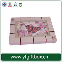 custom packaging for chocolate yifeng manufacturer use recycled paper material for chocolate packaging box