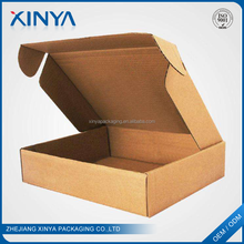 XINYA Wholesale Products Custom Logo Brown Folding Corrugated Outer Carton Box Packaging