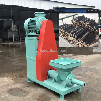 High quality peanut shell briquette extruder
