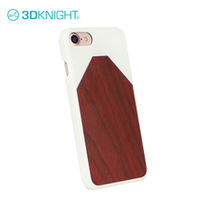 Rosewood engraved custom white PC shell for iphone case china made covers