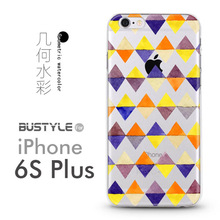 3D Geometric pop StyleSoft TPU Mobile Phone Case For Apple iPhone 4 5s 5c 6 6s plus