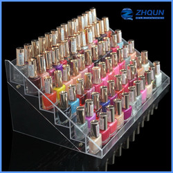 78 bottles acrylic nail polish display stand for cosmetic