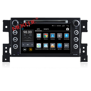 Wholesale!quad core Android 7.1 7inch 2din Car DVD player for SUZUKI grand vitara with 2G RAM 16G ROM