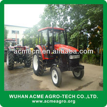Powerful 90Hp 2WD Farm Tractors with 6 Cylinder engine