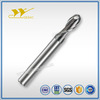 2 Flute Ballnose with Long Shank length Carbide Endmill for Steel or Cast Iron High Efficiency Milling