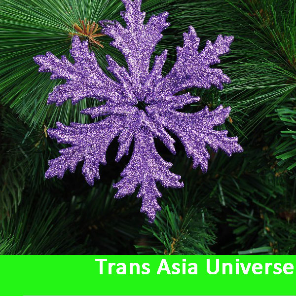Hot Sale decorative plastic snowflakes