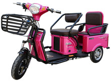 Three wheel tricycle electric auto rickshaw for shopping
