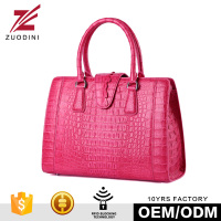 G1043 Pink trend leather handbag
