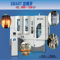 1 liter fast blow molding machine 6000BPH(bottles per hour)